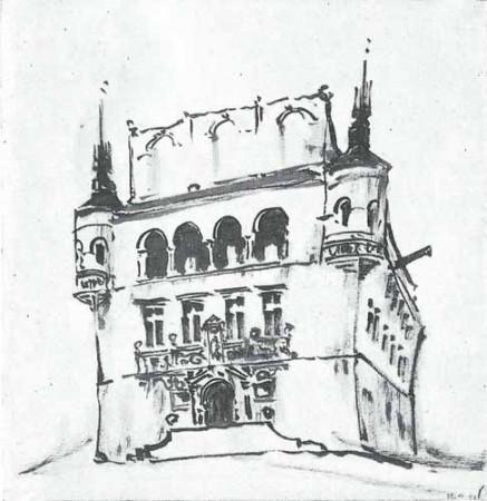 Noakowski Stanisław Ratusz renesansowy - monografia Noakowski
