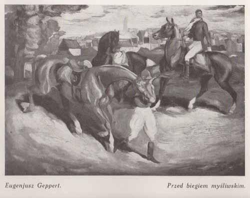 Geppert Eugeniusz, Przed biegiem myśliwskm, s.28
