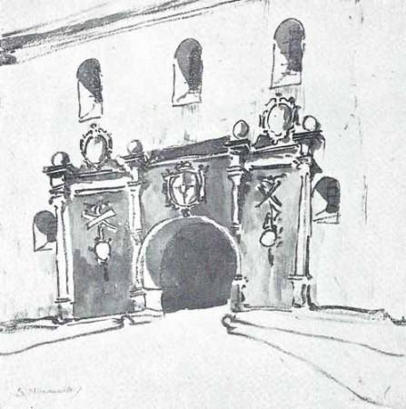 Noakowski Stanisław Wrota barokowe - monografia