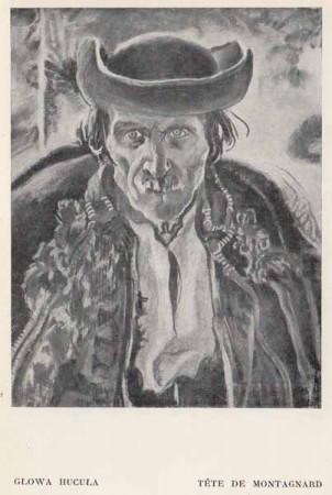 Kazimierz Sichulski Głowa Hucuła