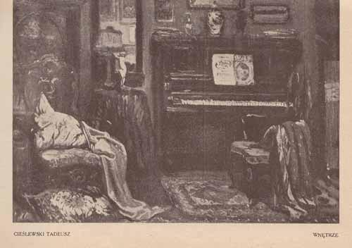 Cieślewski Tadeusz, Wnętrze, s.24,25