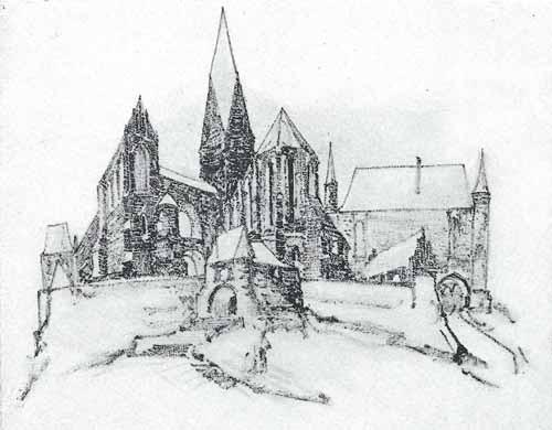 Noakowski STanisłąw Miasto gotyckie - monografia Noakowski