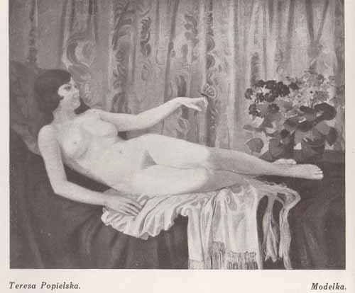 Popielska Teresa, Modelka, s.28
