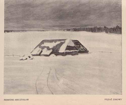 Siemiński Mieczysław, Pejzaż zimowy, s.24,25