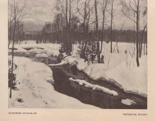 ukowski Stanisław, Przebłysk wiosny, s.24,25