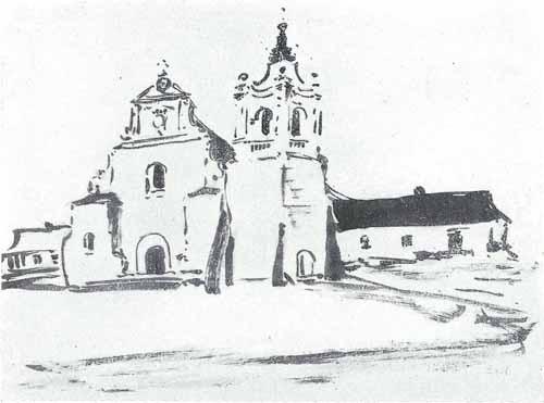 Noakowski Stanisław Kościół barokowy - monografia Noakowski