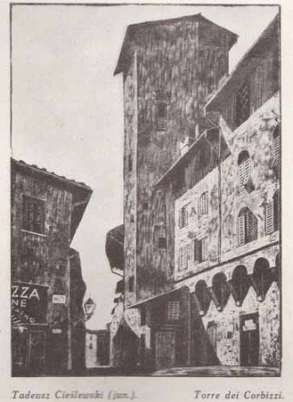 Cieślewski Tadeusz (jun.), Torre, dei Corbizzi, s.28
