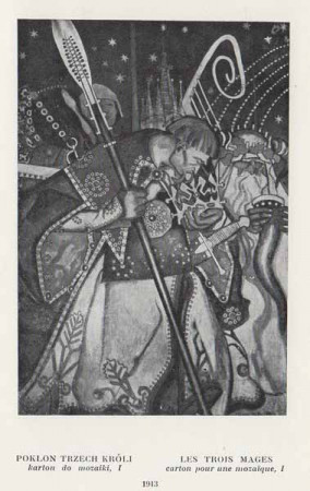 Kazimierz Sichulski Pokłon Trzech Króli