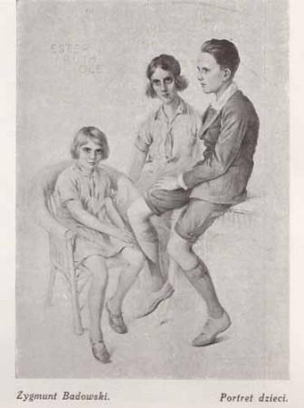 Badowski Zygmunt, Portret dzieci, s.28
