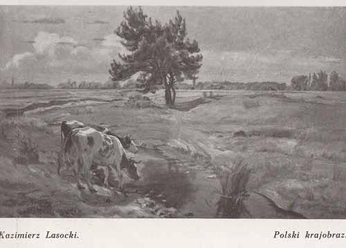 Lasocki Kazimierz, Polski krajobraz, s.28